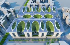 vincent callebaut architectures the gate residence cairo egypt designboom