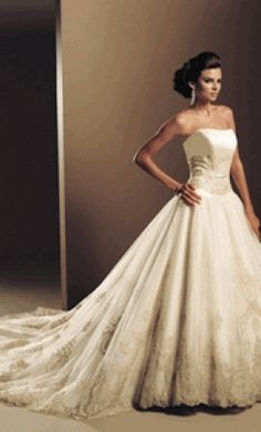 Mon cheri bridals on pinterest mon cheri david tutera for How much are mon cheri wedding dresses