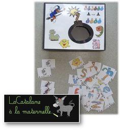 """LaCatalane à la maternelle...: JEU : """"Alphas... Bang !"""" (version maternelle)"""