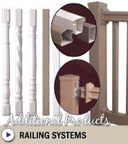 Vinyl  Railing Systems