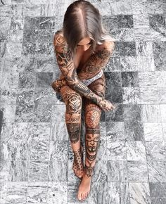 tattoo kit in Tattoo and Body Art Products Tattoo Girls, Girl Tattoos, Tattoos For Women, Tatoos, Ladies Tattoos, Hot Tattoos, Body Art Tattoos, Full Body Tattoos, Fitness Tattoo