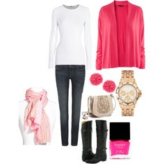 Love the outfit....just not the color. Switch it to blue or green, or black and it's totally me!