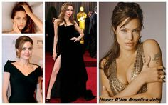 One of the hottest actress of hollywood- Angeline Jolie is celebrating her b'day today.  Wishing her a Very HAPPY BIRTHDAY!!