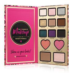New arrival brand makeup eyeshadow pallete The Power of by Nikkie Tutorials Eyeshadow Palette Blush Bronzer Highlighter