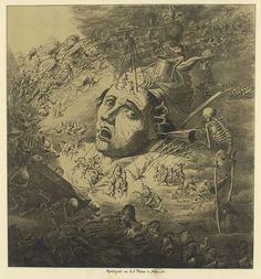 Alexander Ver Huell, 1822-1897 . The Wily Grasser meets The Opium Eater -  50 Watts