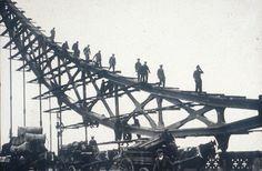 #London's #Tower #Bridge construction
