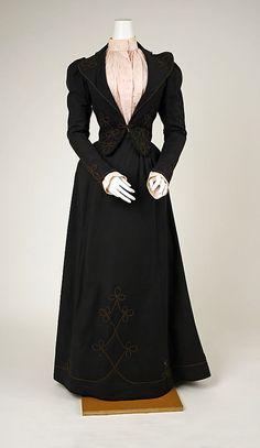 Se oggi i tailleur fossero ancora così, li porterei volentieri!   Suit, 1892 --- metmuseum.org