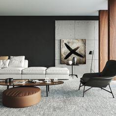 "Popatrz na ten projekt w @Behance: ""Modern Interior Room"" https://www.behance.net/gallery/60276353/Modern-Interior-Room"