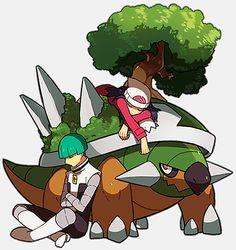 Cute Pokemon trainers x badguys pics