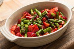 Spargel Erdbeer Dessert
