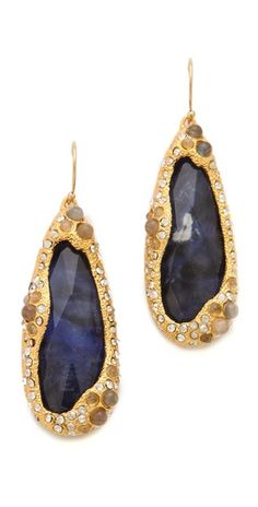 Alexis Bittar Sodalite Doublet Earrings | SHOPBOP
