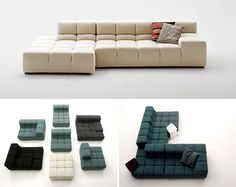 tufty couch by B Italia.  Don't know if you have the space...but I knew you'd like this.