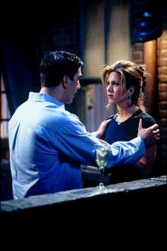 David Schwimmer and Jennifer Aniston as Ross & Rachel from Friends (1994-2004)