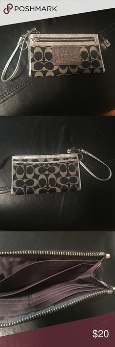 Coach wallet Coach wristlet. used. very good condition. Coach Bags Clutches & Wristlets