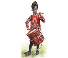 British Drummer, 59th Regiment of Foot 1775