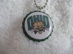 Ohio University Bobcats 24 inch Ball Chain Necklace on Etsy, $6.50