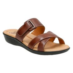Clarks Women's Manilla Pluma Sandal *** Discover this special product, click the image : Wedge sandals Strappy Sandals, Wedge Sandals, Stylish Sandals, Boots Online, Clarks, Men's Shoes, Brown Leather, Footwear, Manila