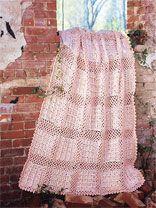 Pastel Bricks Afghan