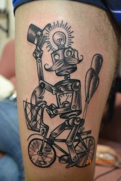 Best looking robot tattoo I've seen in a while.
