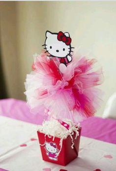 Centro de mesa kitty