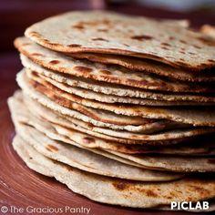 Clean Eating Quinoa Tortilla Recipe