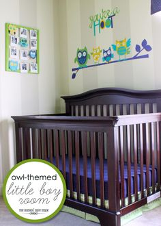 "The Homes I Have Made: Owl-Themed ""Little Boy"" Room {Bedroom Reveal}"