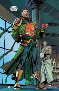 Ran Shen aka Iron Nail (Villain) A former S.H.I.E.L.D. agent driven by the desire to overthrow the Western government.