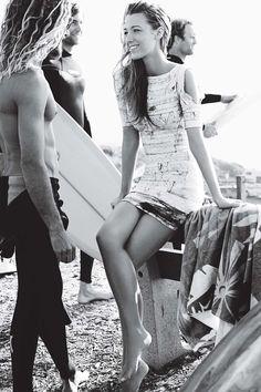 Mario Testino - Blake Lively - Vogue