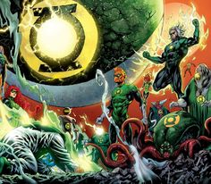 Green Lantern Corps by Tyler Kirkham
