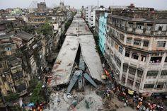 Spaltbrücke  (01.04.16)      In der indischen Metropole Kalkutta ist am...