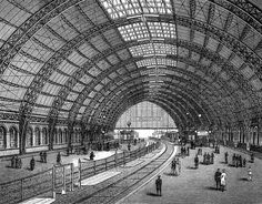 Brockhaus 14 Berlin Bahnhof Friedrichstraße - Bahnhof BerlinFriedrichstraße – 1882