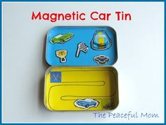 Magnetic Car Tin 2--The Peaceful Mom