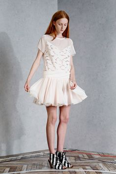 this whole Viktor & Rolf resort 2015 collection is genius but this look is me through and through, all day, every day