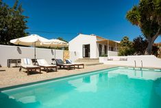 Quinta Priscila is a self-contained holiday villa with private pool suitable for 4 persons located in the countryside of the Algarve, Portugal, Villa With Private Pool, Port Wine, Algarve, Lisbon, Countryside, Mansions, Luxury, House Styles