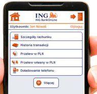 Mobilność w wydaniu ING znów bardzo wysoko http://bankuje.pl/aplikacja-mobilna-od-banku-ing/