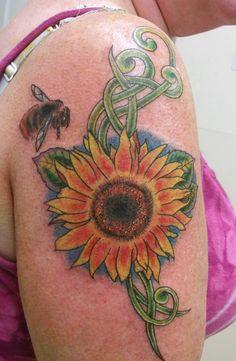 18 Unique Sunflower Tattoo Designs for Girls