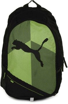99ddb0dec0a Buy Puma Echo plus 27 L Medium Backpack (Green) at low prices in India only  on Winsant.com