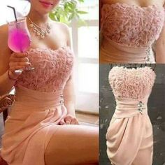 Cute dress to wear to a wedding <3