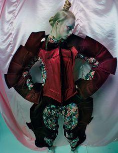 An Artist of the Floating World / Vogue UK Dec 2016