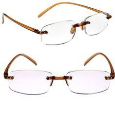 Flex Bifocal Computer Glasses in Brown at Debspecs