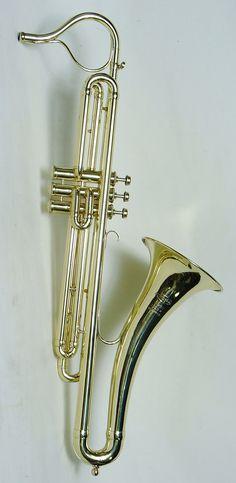 Lego City Trumpet Horn Instrument Pearl Gold w// Black Bulb NEW
