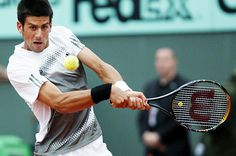 The number one tennis player in the World right now, Novak Djokovic. The men's game has been so good the last few years. It's a great time to be a fan.