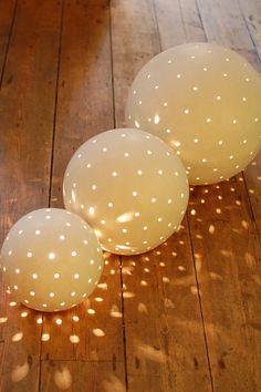Luna Snowballs sfeerlampen in bolvorm -★- dots light