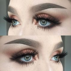 "138 Likes, 2 Comments - @helenesjostedt on Instagram: ""I used @viseart minx theory palette (all shadows) 