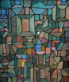 Paul Klee's The Way to the Citadel