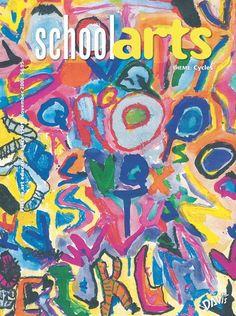 SchoolArts Magazine, November 2008, art education magazine for K-12 art educators, #arteducation, #arted