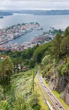 Bergen, Norway, my great-grandmother's place of birth. I would LOVE to visit one day.