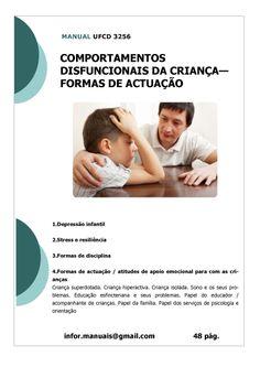 ufcd 3256. Comportamentos disfuncionais da criança - Formas de actuação