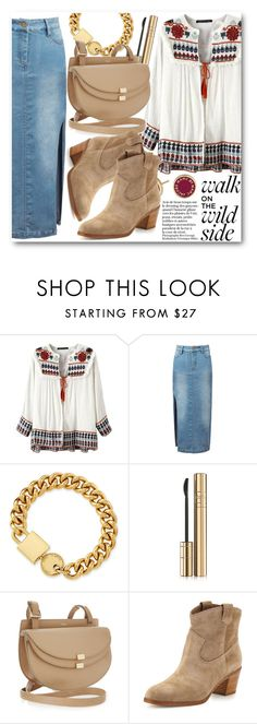 """Boho Chic"" by stylemoi-offical ❤ liked on Polyvore featuring moda, Marc by Marc Jacobs, Dolce&Gabbana, Chloé, Gianvito Rossi e stylemoi"