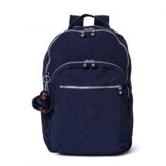 Kipling Seoul Laptop Backpack - True Blue - Kipling